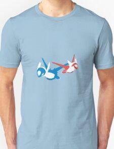Latios & Latias Unisex T-Shirt