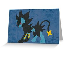 Luxray Greeting Card