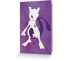 Mewtwo Greeting Card