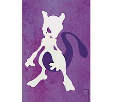 Mewtwo Photographic Print