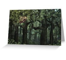 Fantasy Forest Flight Greeting Card