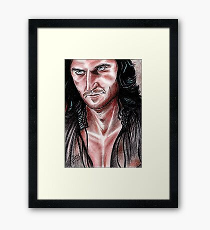 Richard Armitage, devilish Guy Framed Print