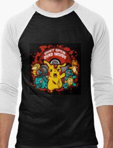 Pokemon Invade Men's Baseball ¾ T-Shirt