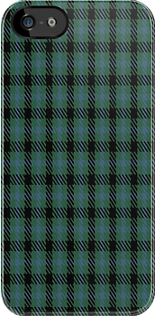 00907 Wilson's No. 53 Fashion Tartan Fabric Print Iphone Case by Detnecs2013