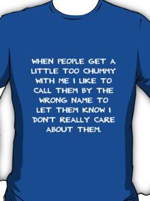 Chummy Swanson T-Shirt