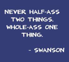 WholeAss Swanson T-Shirt