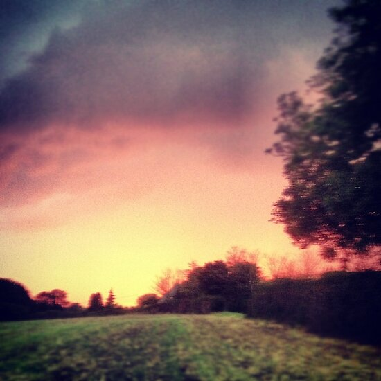 Red Sky at night Shepard Delight by kirsten-designs