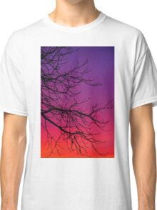 Sunset Colours in February Classic T-Shirt