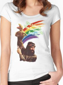 Jim Henson and Kermit Women's Fitted Scoop T-Shirt