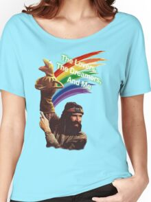 Jim Henson and Kermit Women's Relaxed Fit T-Shirt