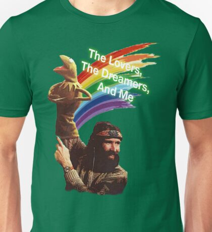 Jim Henson and Kermit Unisex T-Shirt