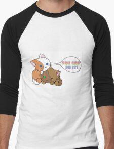 Motivational Kittens Men's Baseball ¾ T-Shirt