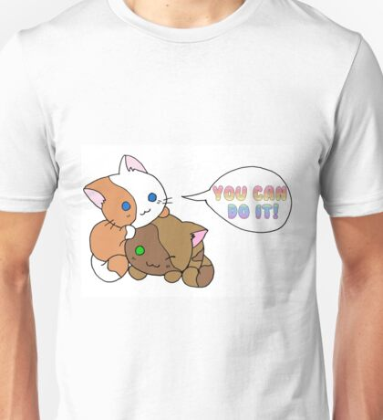 Motivational Kittens Unisex T-Shirt