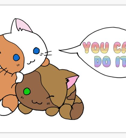 Motivational Kittens Sticker