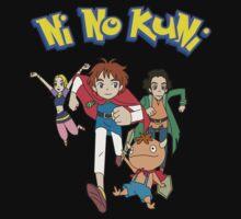Pokemon + Ni No Kuni = Pokuni? Ninokémon? Kids Tee