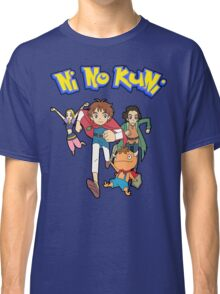 Pokemon + Ni No Kuni = Pokuni? Ninokémon? Classic T-Shirt