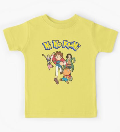 Pokemon + Ni No Kuni = Pokuni? Ninokémon? Kids Tee