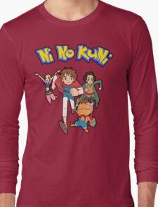 Pokemon + Ni No Kuni = Pokuni? Ninokémon? Long Sleeve T-Shirt
