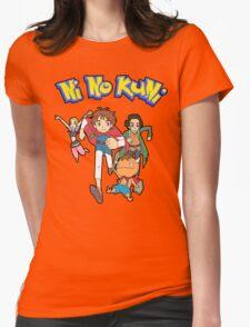 Pokemon + Ni No Kuni = Pokuni? Ninokémon? Womens Fitted T-Shirt