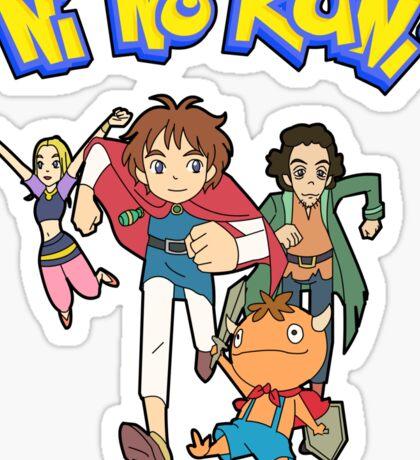 Pokemon + Ni No Kuni = Pokuni? Ninokémon? Sticker
