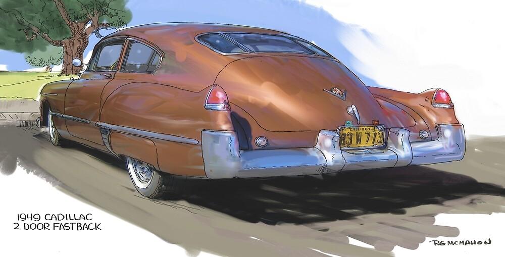 1949 Cadillac Fastback by RGMcMahon