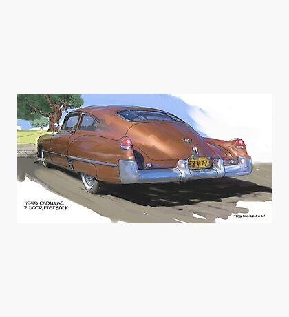 1949 Cadillac Fastback Photographic Print