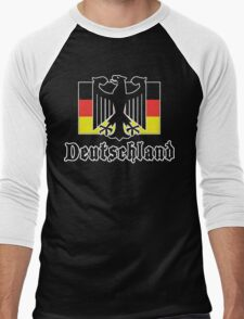 Deutschland Men's Baseball ¾ T-Shirt