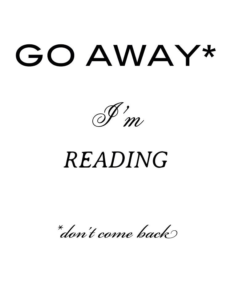 Go away, I'm reading. by Viktorija07