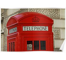 London Telephone Poster