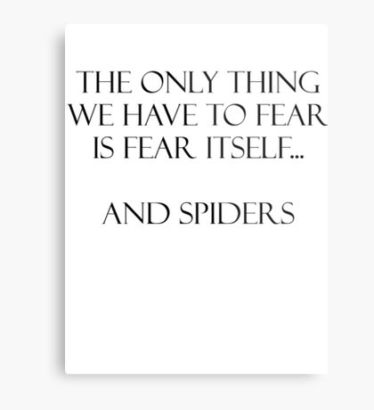 Spiders Metal Print