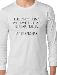 Spiders Long Sleeve T-Shirt