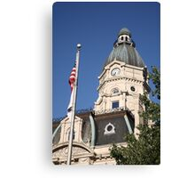 Terre Haute, Indiana - Courthouse Canvas Print