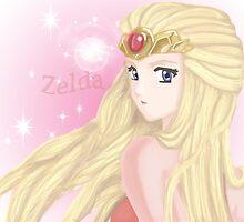 Princess Zelda  by LARiozzi