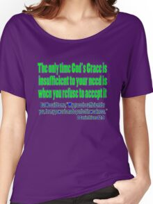 God's sufficient grace, 2cor 12:9 Women's Relaxed Fit T-Shirt