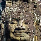 Bayon Face by Andrew Permezel