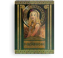 Olympia Heights: Persephone Metal Print