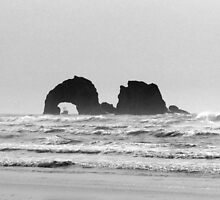 Twin rocks Oregon by Hannah Fenton-Williams