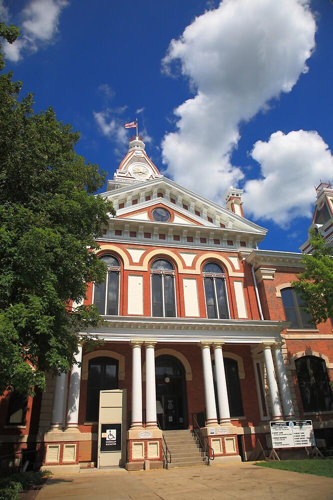 Pontiac, Illinois - Courthouse by Frank Romeo