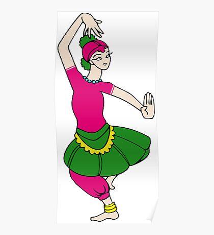Female Dancer Poster