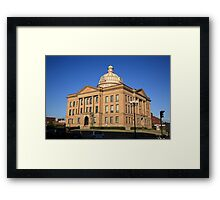 Lincoln, Illinois - Courthouse Framed Print