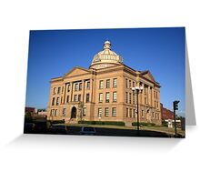 Lincoln, Illinois - Courthouse Greeting Card