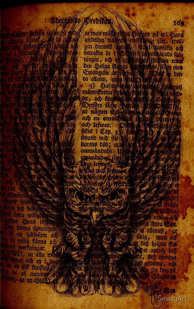 OWL PAGE by SmittyArt