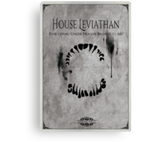 House of Leviathan Canvas Print
