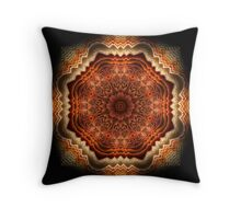 Octofun Throw Pillow