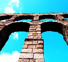 The Roman Aqueduct, Segovia by CourtneyAnne82