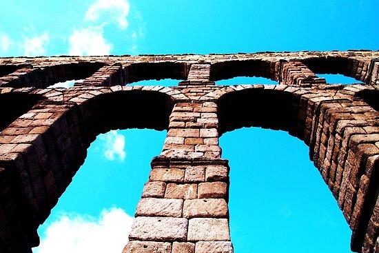 The Roman Aqueduct, Segovia by CourtneyAnne82