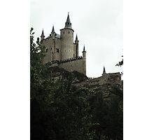 Floating castle in the sky - Segovia Alcazar Photographic Print