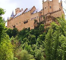 Castle in the sky - Alcazar, Segovia by CourtneyAnne82