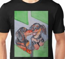 Happy Dogs Unisex T-Shirt