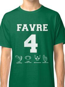 Brett Favre - Career Stats Classic T-Shirt
